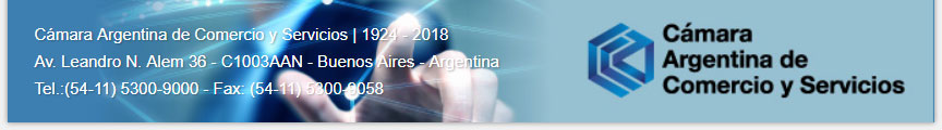 Mercurio - C�mara Argentina de Comercio